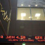 Φθηνά την γλίτωσε το Χρηματιστήριο Αθηνών εν μέσω γενικής πτώσης: Έκλεισε χάνοντας μόλις 0,81%