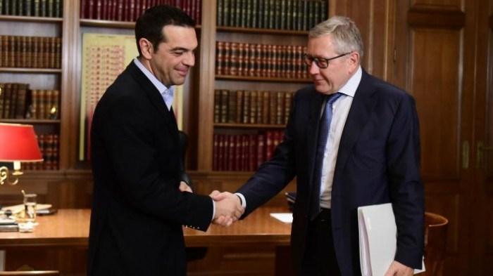 Τι συζητήθηκε μεταξύ Ρέγκλινγκ-Τσίπρα- Η δέσμευση του αρχηγού της αξιωματικής αντιπολίτευσης
