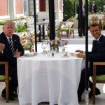 Ο Μακρόν επιχειρεί να στριμώξει τον Τραμπ για το Ιραν και το εμπόριο πριν τη σύνοδο των G7