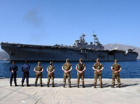 Οι ΗΠΑ επιλέγουν την Σούδα ως σταθερό πυλώνα της στρατιωτικής ισχύος τους στην Μεσόγειο.
