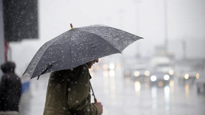 βροχές σε αρκετές περιοχές της χώρας
