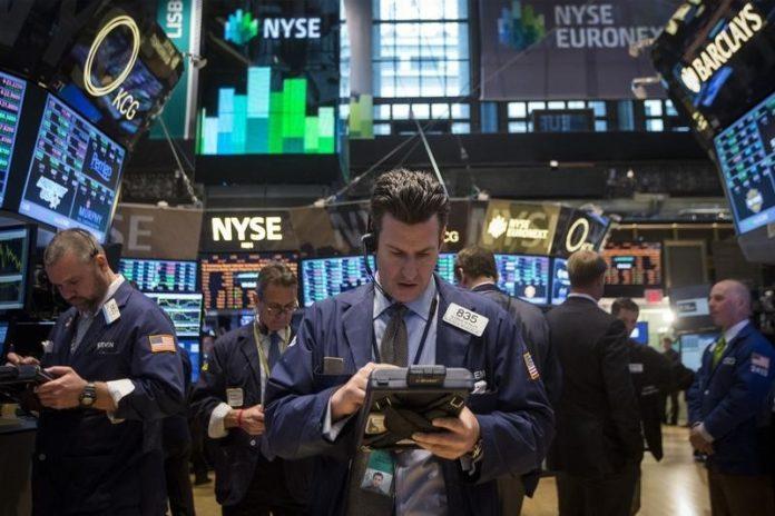 Απώλειες σημειώθηκαν για δεύτερη συνεδρίαση στη Wall Street