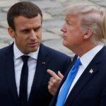 """Ο Μακρόν τηλεφώνησε στον Τραμπ να του εξηγήσει τι ακριβώς συμβαίνει στην Αν. Μεσόγειο – """"Οι απόψεις μας συγκλίνουν"""", δήλωσε"""