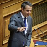 """Εξοργισμένος ο Μητσοτάκης με το βανδαλισμό του μνημείου της Marfin – """"Το ν/σ για τς διαδηλώσεις θωρακίζει την ελευθερία της δημόσιας έκφραση?"""