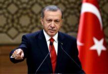 Ο Τούρκος πρόεδρος Ρετζέπ Ταγίπ Ερντογάν επετέθη (και) στις ΗΠΑ