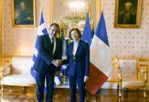 Στην Αθήνα αναμένεται τη Δευτέρα η Γαλλίδα υπουργός Άμυνας, Φλοράνς Παρλί