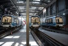Στις πρώτες δοκιμές συρμού του Μετρό Θεσσαλονίκης η ηγεσία του Υπουργείου Υποδομών και Μεταφορών
