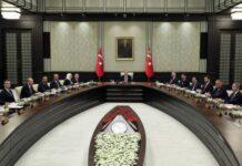 Ερντογάν υπουργικό συμβούλιο ανατολική Μεσόγειος