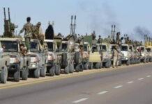 Λιβύη κατάπαυση πυρός