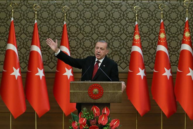 Ερντογάν γαλάζια πατρίδα