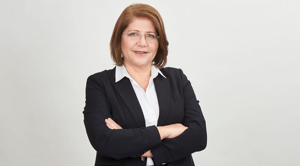 Η Χειρουργός κα Ελένη Καραφώκα-Μαύρου, Διευθύντρια  Β' Κλινικής Ρομποτικής Χειρουργικής και Χειρουργικής Ογκολογίας Metropolitan General