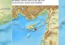 σεισμός Κύπρος
